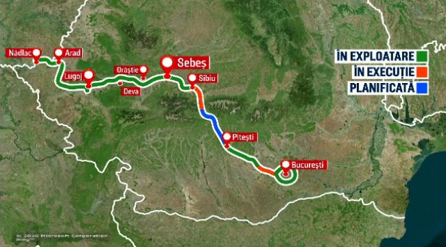 autostrada Sibiu - Pitești