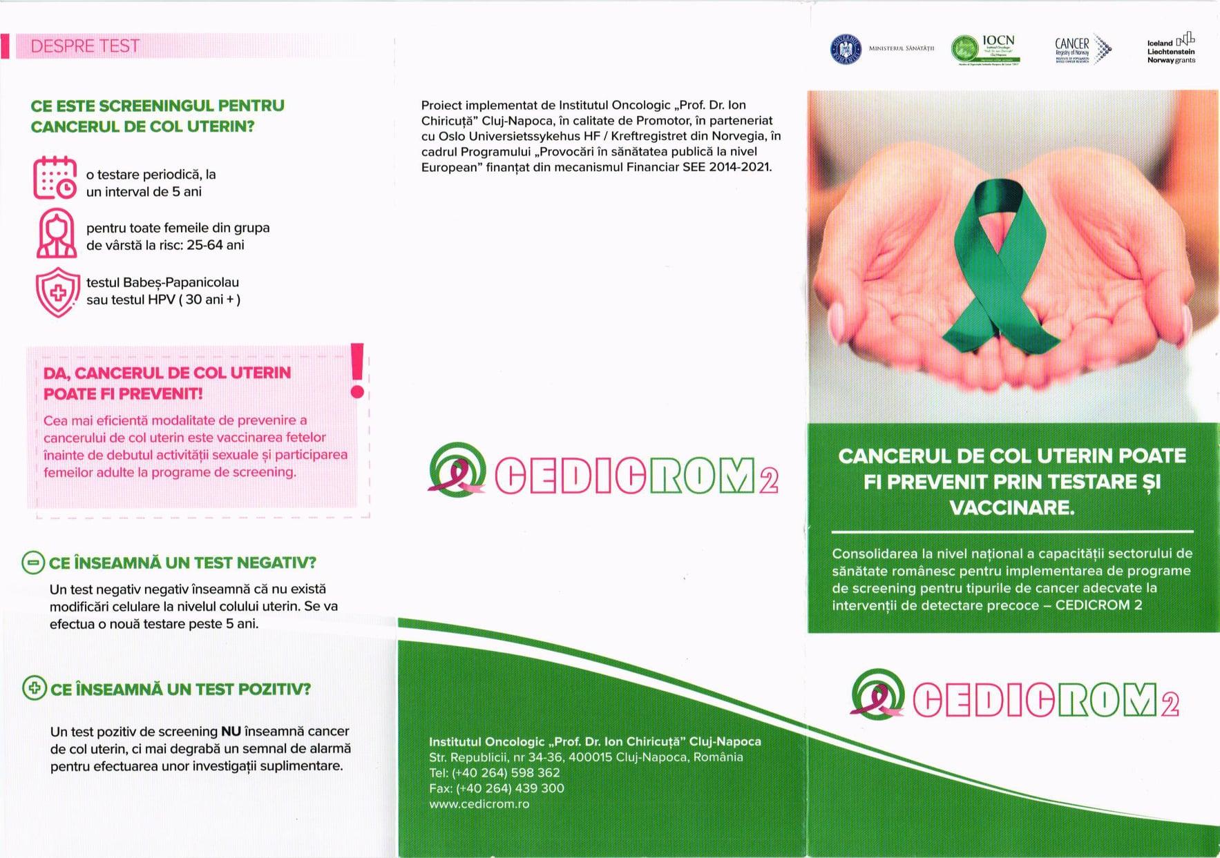 Testare gratuită HPV, MOTRU